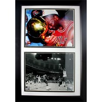 Michael Jordan Double Custom Frame (Black)
