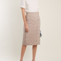 Roses-brocade skirt | Rochas | MATCHESFASHION.COM US