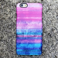 Abstract Color iPhone Case iPhone 6 Case Blue iPhone 5S 5iPhone 5CiPhone 4S/4 Case Pink Samsung Galaxy S6 edge S6 S5 S4 Note 2 3 Case 037