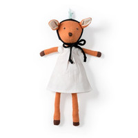 Hazel Village Organic Phoebe Fawn Doll with Bonnet