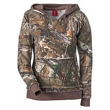 SHE® Outdoor Vintage Camo Hoodie for Ladies