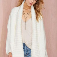 Nasty Gal Angelica Sweater Cardigan