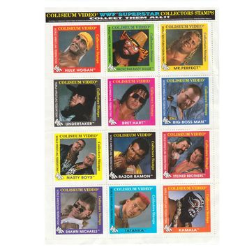 WWF 1993 STAMPS SHEET