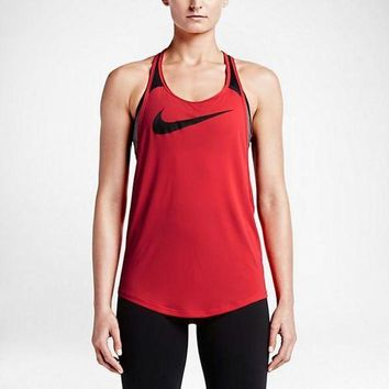 ESBONN Nike Women's Running Tank Tops (Back Breathable Mesh)