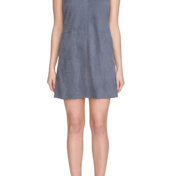 1.State   Faux Suede Shift Dress   Nordstrom Rack