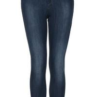 MOTO Blue Leigh Jeans - Leigh Skinny Jeans - Jeans  - Clothing