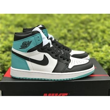 Air Jordan 1 Retro Aj1 Jade Black Toe Basketball Shoes Us8 13 | Best Deal Online