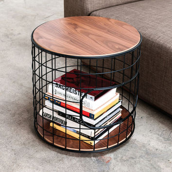 Wireframe Side Table