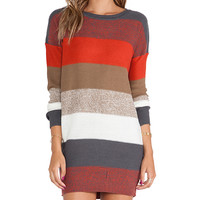 Jack by BB Dakota Marilou Pullover Sweater in Gray