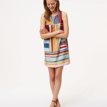 Cabana Shift Dress | LOFT