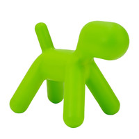 Michael Anthony Furniture Sofie's Room Green Dog Chair