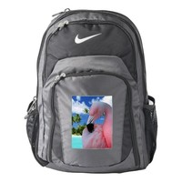 Pink Flamingo Nike Performance Backpack