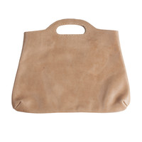 Raven and Lily Yami Taupe Elegant Clutch