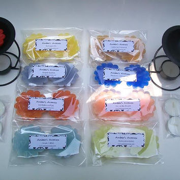 Scented Candle Tart Wax Melt Sampler 8 Twin Packs Scented Candle Sampler 16 oz