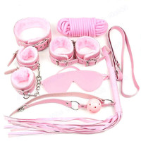 Pink Bondage Set - Kitten Play - Pet Play - BDSM