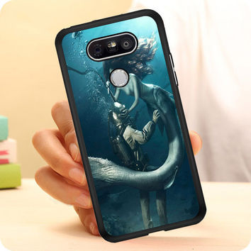 DIVER AND THE MERMAID LG G5 Case Planetscase.com