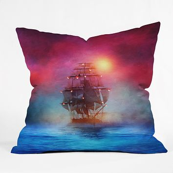 Viviana Gonzalez The lights Throw Pillow