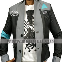 Detroit Game: Become Human Connor Coat Cosplay Costume-www.bnhhub.com
