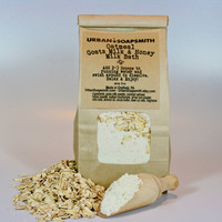 Oatmeal, Goats Milk & Honey Milk Bath 12 oz - Milk Bath - Aromatherapy Bath - Oatmeal Bath