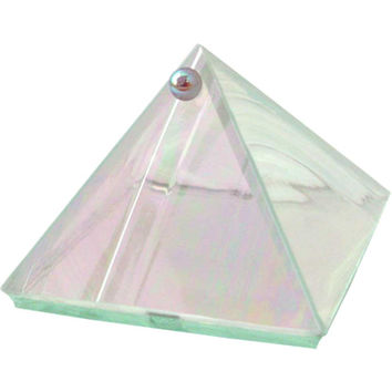 "Moon glass Pyramid Box - 2""inch"