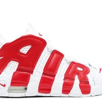 "Nike Air More Uptempo ""White Varsity Red"" GS"