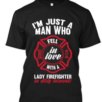 Fell In love with Firefighter Lady