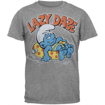 Smurfs - Lazy Daze Soft T-Shirt