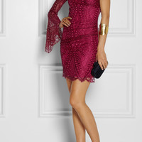 Emilio Pucci | Lace mini dress | NET-A-PORTER.COM