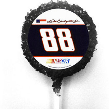 Nascar Edible Image Chocolate Covered Oreo Pops