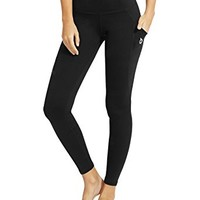 "Baleaf Women's Yoga Workout Leggings Side Pocket for 5.5"" Mobile Phone"