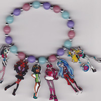 Monster High Inspired Bracelet by Oseweverything on Etsy