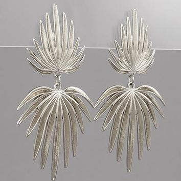 Palm Leaves Earring