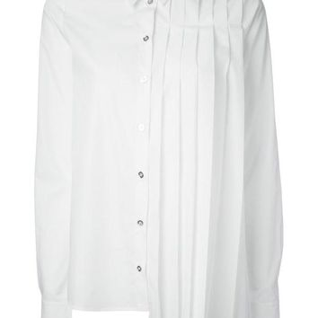 DCCKIN3 MM6 By Maison Martin Margiela asymmetric pleated shirt