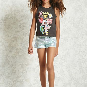 Girls Sequin Shorts (Kids)