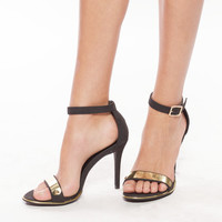 Nancy Sandals-Black 4