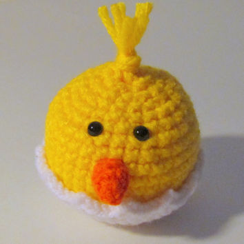 Amigurumi Chick PDF Crochet Pattern INSTANT DOWNLOAD