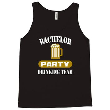 bachelor party drinking team wedding groomsmen bridal funny Tank Top