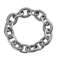Extra Large Oval Link Bracelet - David Yurman - (LARGE)