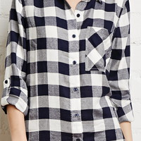 Gingham Plaid Shirt