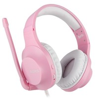 SADES Spirits Gaming Headset Gamer Headphones For PC / Laptop / PS4 / XBOX ONE ( 2015 Version ) / Mobile /VR Pink