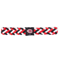 Cincinnati Reds MLB Braided Head Band 6 Braid