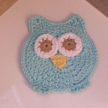Owl Washcloth Washmitt Bath time's a HOOT with Addy the Owl Stocking Stuffer