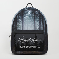 No more roads Backpack by happymelvin