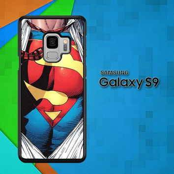 Superman Clark Kent Pop Art X0206 Samsung Galaxy S9 Case