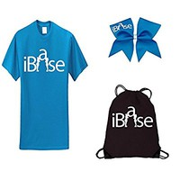 Neon Blue iBase Camp ComBow-White Print