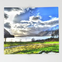 Scotland Throw Blanket by Haroulita | Society6