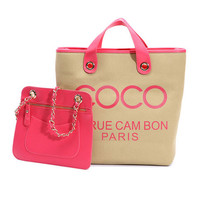 Mademoiselle Coco Canvas Bag from Hallomall