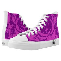 purple High-Top sneakers