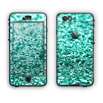The Glimmer Green Apple iPhone 6 Plus LifeProof Nuud Case Skin Set