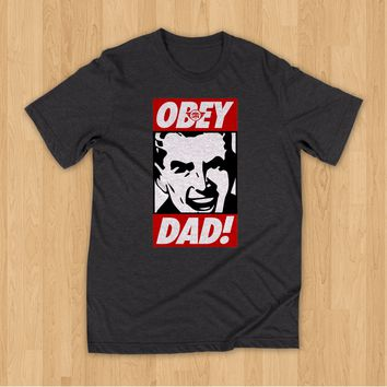 OBEY DAD / Charcoal